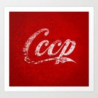 CCCP Art Print