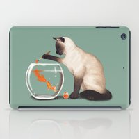 Goldfish Need Friend iPad Case