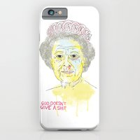 iPhone & iPod Case featuring GOD SAVE THE QUEEN by Maciek Szczerba