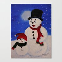 Hapy Holidays Canvas Print
