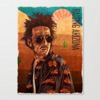 Raising arizona Canvas Print