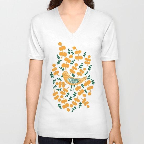 Birdie Bird V-neck T-shirt