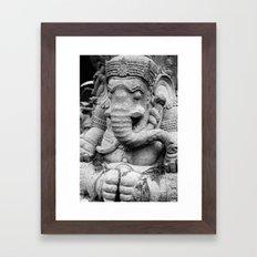 Buddhismus Framed Art Print