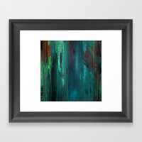 Gravity Painting No.1 Framed Art Print