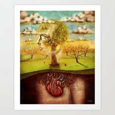 Rooted Art Print