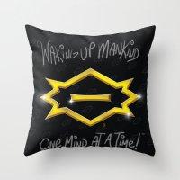 C2 & Posse Emblem Throw Pillow