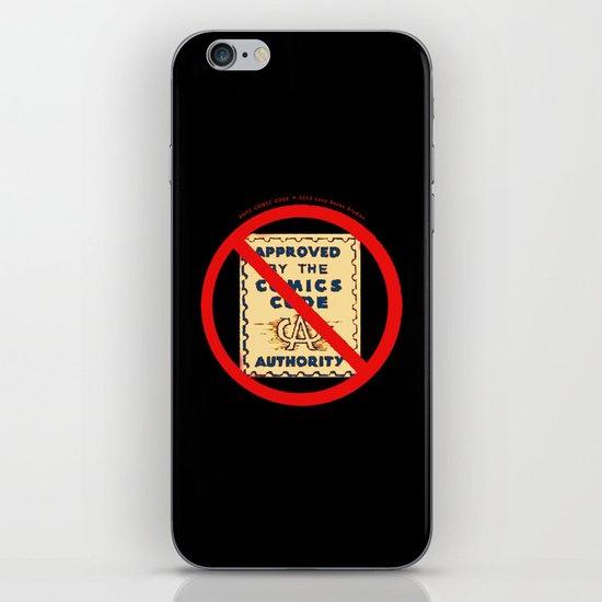 ANTI COMIC CODE 009 iPhone & iPod Skin
