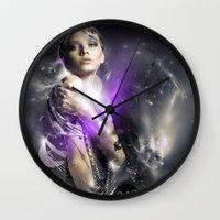 Milky Wall Clock