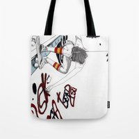 Skater Girl - Part One -… Tote Bag