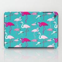 Flamingos iPad Case