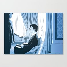 A scandal in fanart Canvas Print