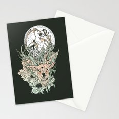 D E E R M O O N Stationery Cards