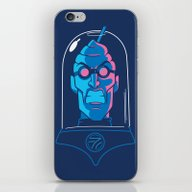 iPhone & iPod Skin featuring Mr. Brain Freeze by Santo76