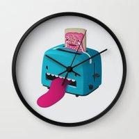 Pop Tart Wall Clock