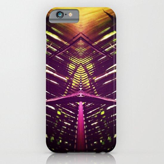 kaleidoscope palm iPhone & iPod Case