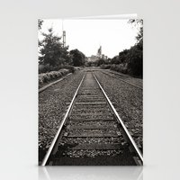 Railroad Tracks Stationery Cards