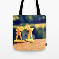 Brothers In Till The End Tote Bag