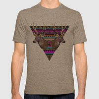 KEEPER OF MY SOUL▲ Mens Fitted Tee Tri-Coffee SMALL