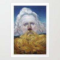 Sam Beam Art Print