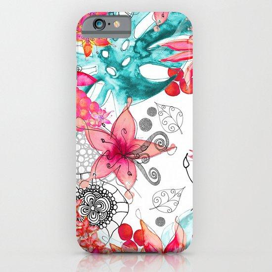 TROPICAL GARDEN iPhone & iPod Case
