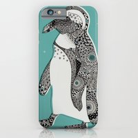 iPhone & iPod Case featuring Penguin by Rachel Russell