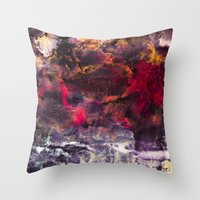 Encaustic I  /  Encausti… Throw Pillow