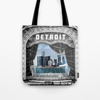 The Big Show - Detroit, Michigan Tote Bag