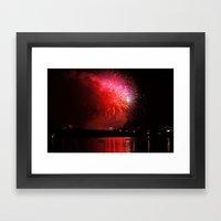 4th Of July  Framed Art Print