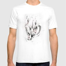 Swans SMALL Mens Fitted Tee White