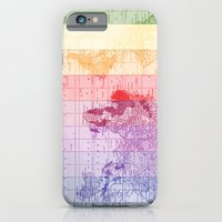 iPhone & iPod Case featuring Rainbow World Map by Catherine Holcombe