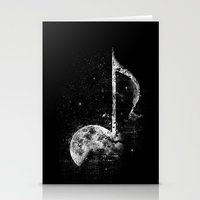 Melodie De La Lune Stationery Cards