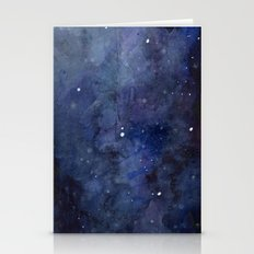 Night Sky Stars Galaxy |… Stationery Cards