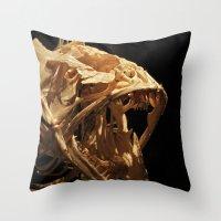 Remnants II Throw Pillow