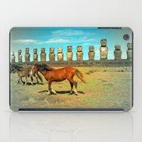 EASTER ISLAND SCENE iPad Case