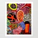 Repus (Abstract) Art Print