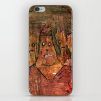 Zombies In A Red Dawn Ap… iPhone & iPod Skin