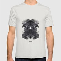 - morne social - Mens Fitted Tee Silver SMALL