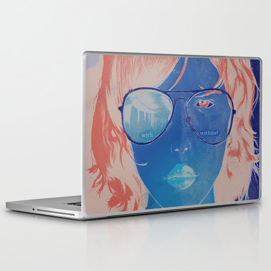 With & Without Laptop & iPad Skin