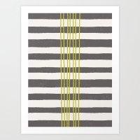 Rows Art Print