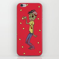 Zombie Watch iPhone & iPod Skin