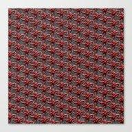 Barrel Of Monkeys Patter… Canvas Print