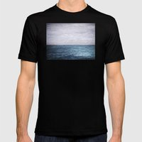 Plain Sailing Mens Fitted Tee Black SMALL