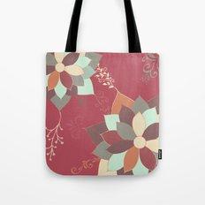Morrocan Flowers Tote Bag