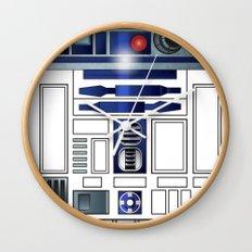 Shiny New Droid Wall Clock