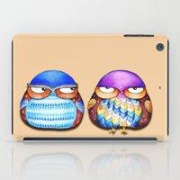 Grumpy Owls iPad Case