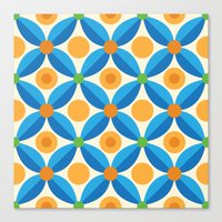 Citrus: Orange Grove Canvas Print