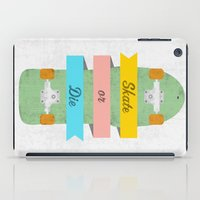 Skate or Die. iPad Case