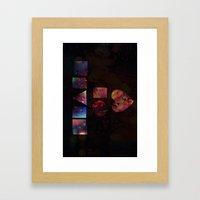 HEART OF PIECES Framed Art Print
