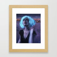 The Magic Wig Framed Art Print