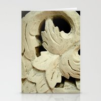 Carved Wood II Stationery Cards